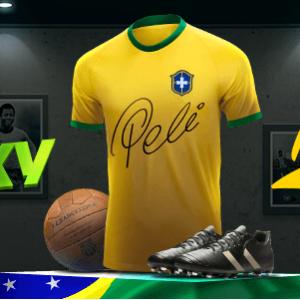 БК «Леон»: акция «Выиграй футболку с автографом Пеле»